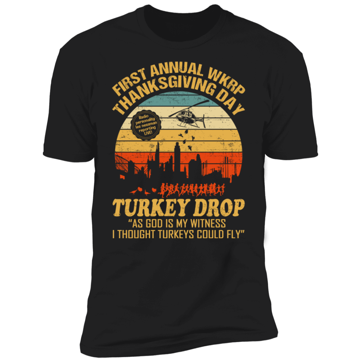 First Annual WKRP V1 Premium Short Sleeve T-Shirt