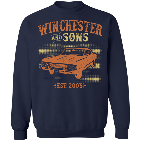 Winchester and Sons V1 Crewneck Pullover Sweatshirt - V1