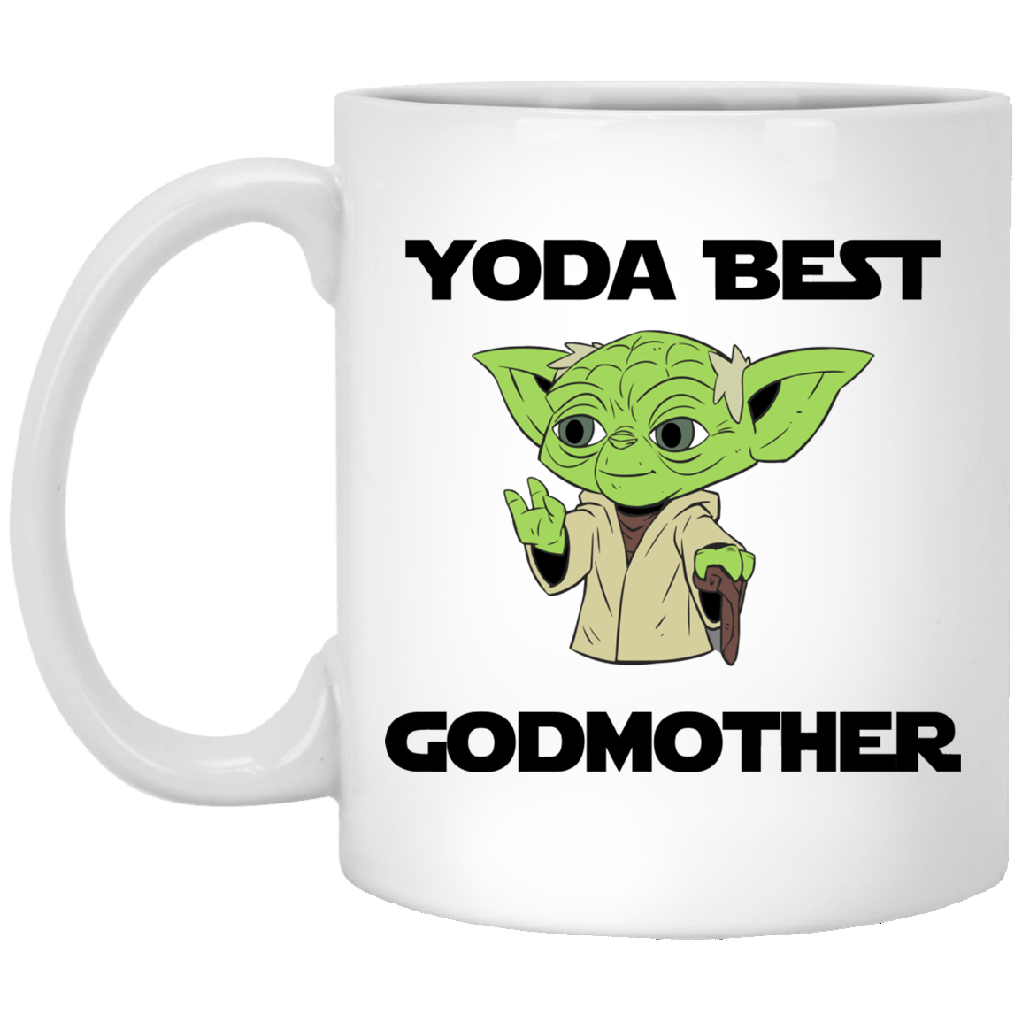Yoda Best Godmother Mug