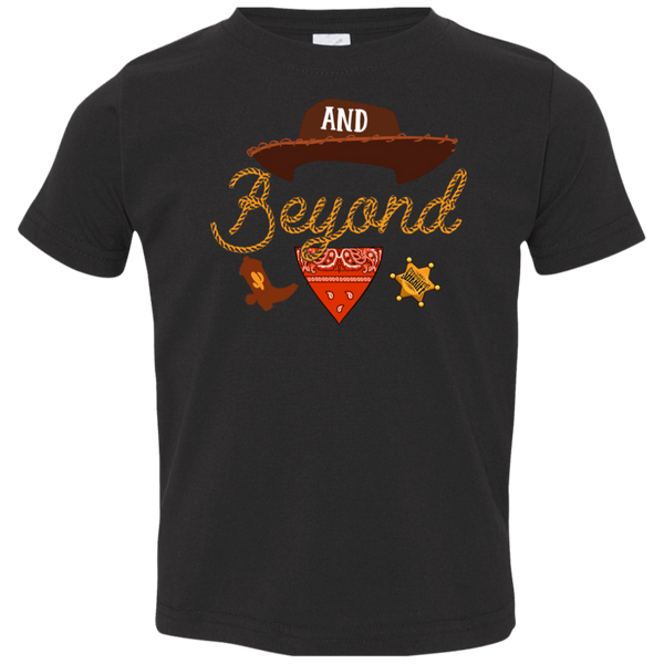 And beyond Toddler Jersey T-Shirt