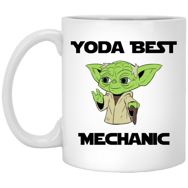 Yoda Best Mechanic Mug