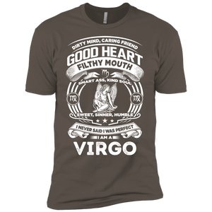 Good Heart Virgo Zodiac Premium Short Sleeve T-Shirt