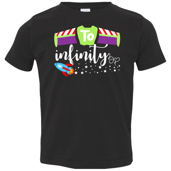 To Infinity Toddler Jersey T-Shirt