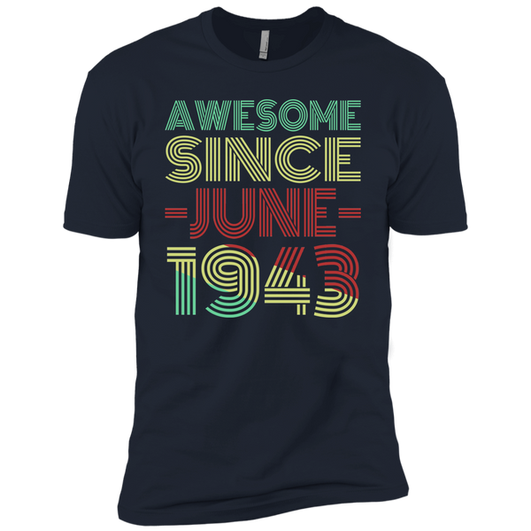 Awesome Since June 1943 Premium Short Sleeve T-Shirt