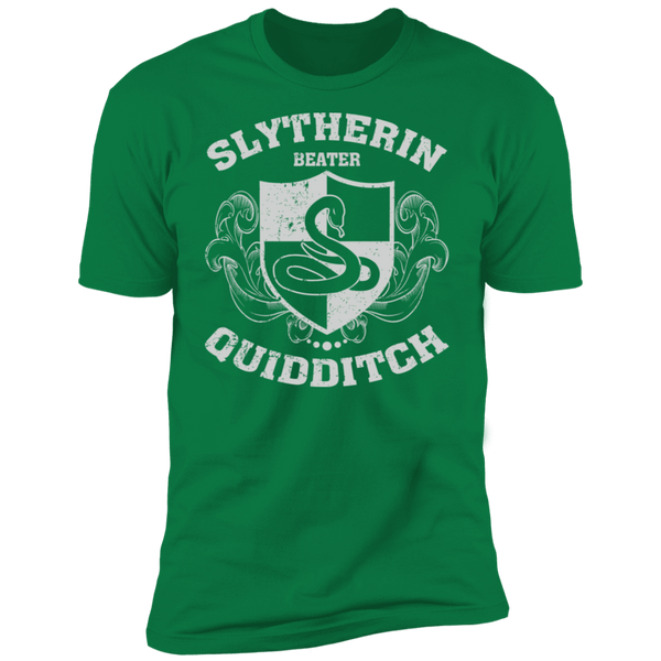 Slytherin Beater Premium Short Sleeve T-Shirt