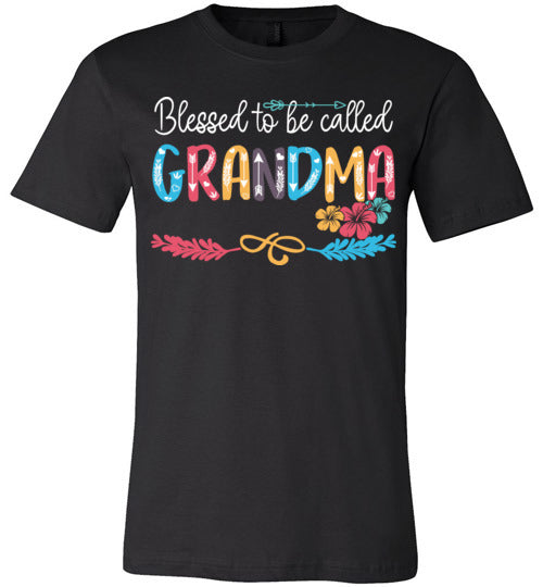 Blessed To Be Called Grandma T-shirt V1 - TS