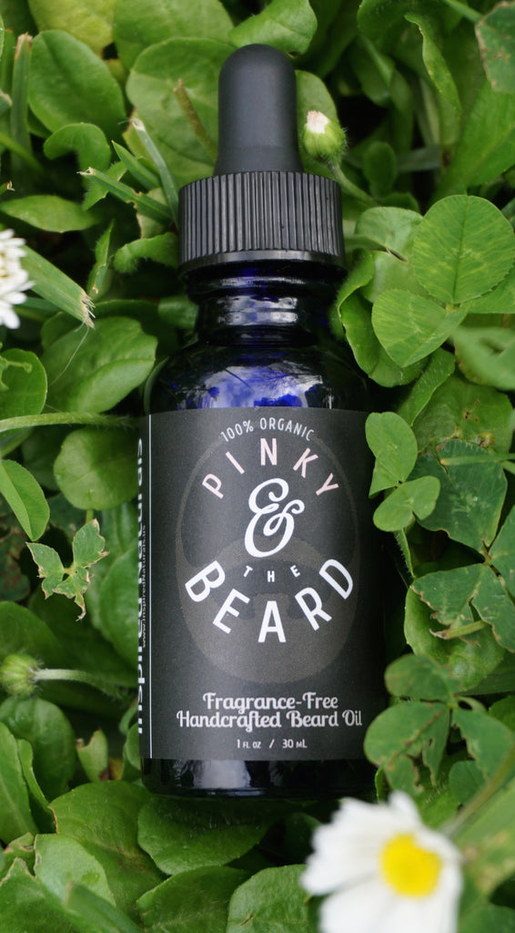 Fragrance-Free. 100% Organic, and outstanding for your beard, and the skin beneath.