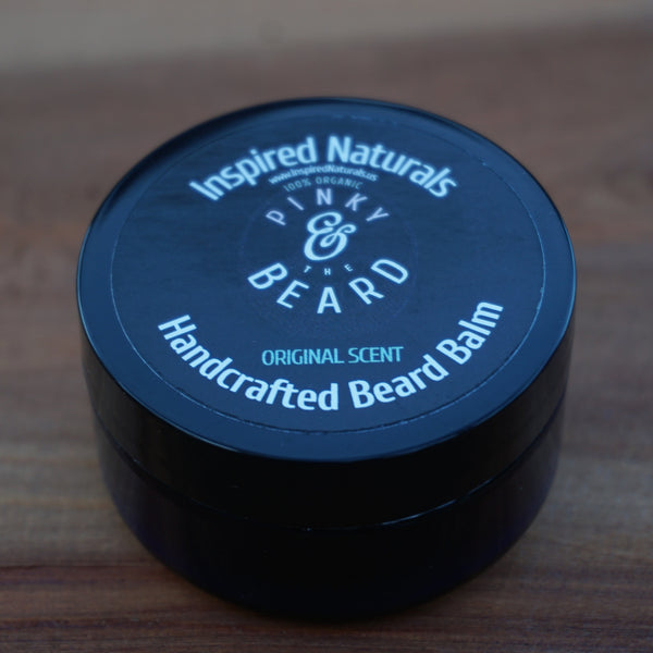 Pinky & the Beard 100% Organic <br>ORIGINAL Scent Handcrafted Beard Balm, <br>2oz