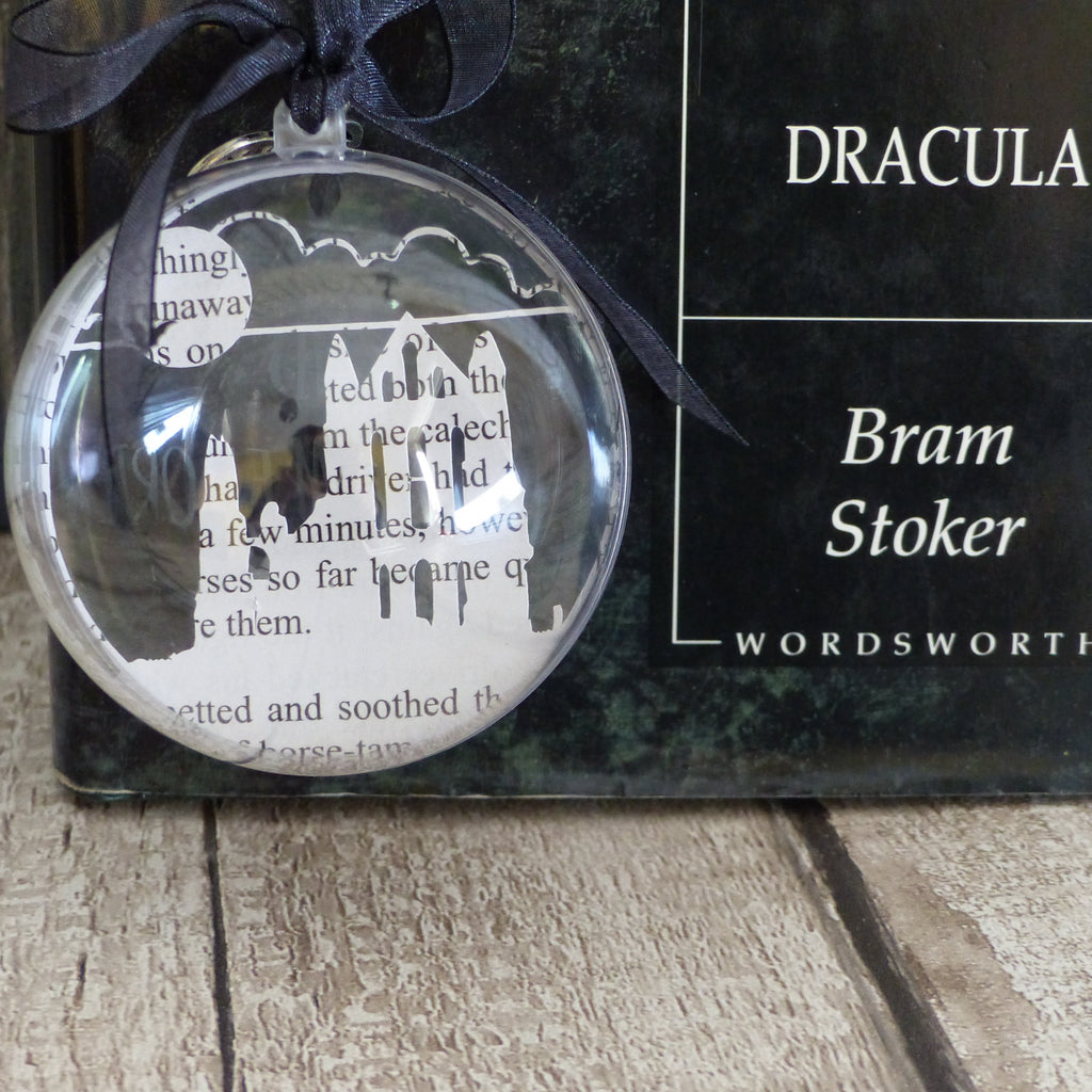Whitby book bauble