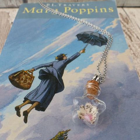 Mary Poppins book daisy necklace