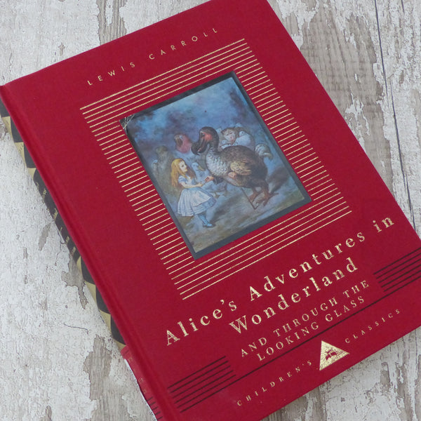 Photo of Lewis Carroll's Alice's adventures in wonderland book