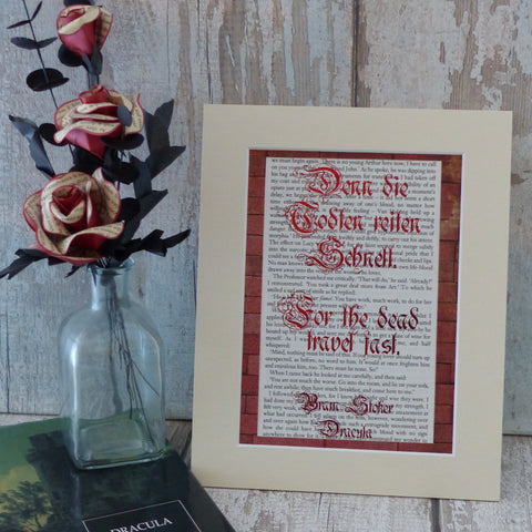 Bram stoker book art
