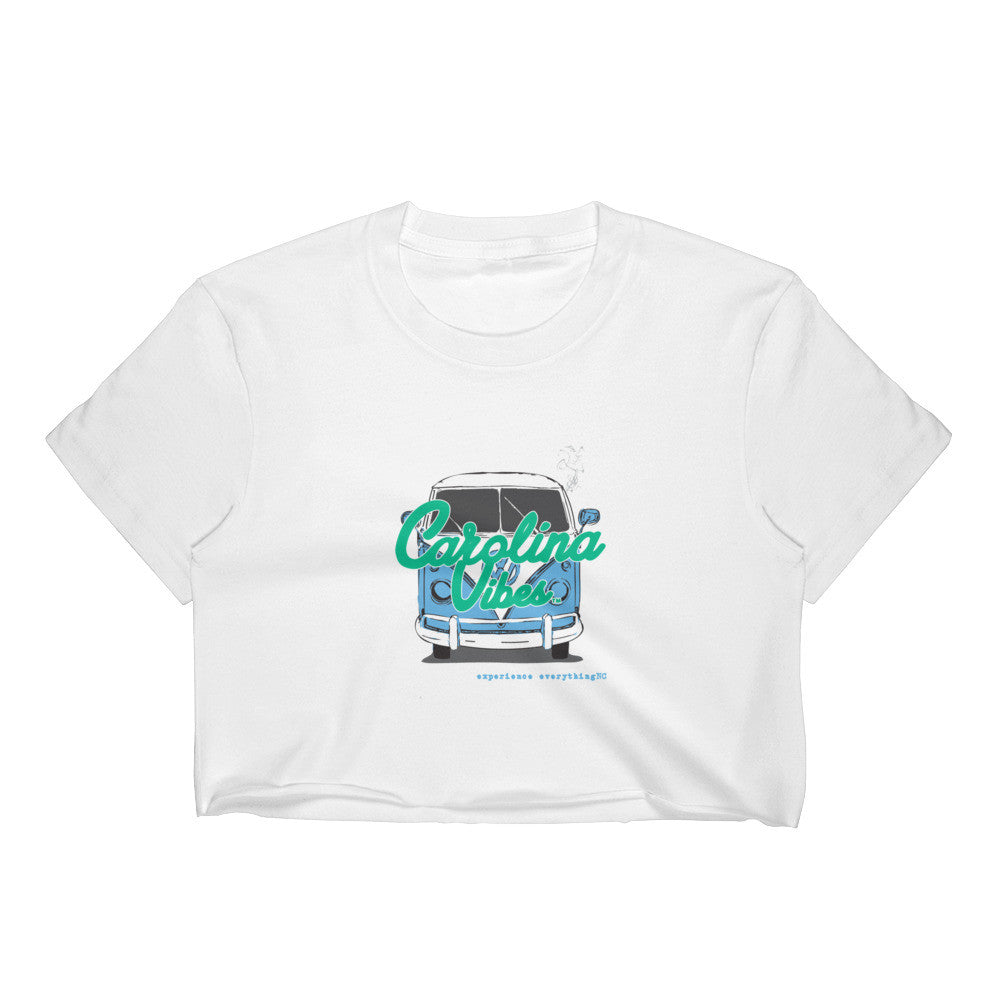 Road Tripping' - Women's Crop Top