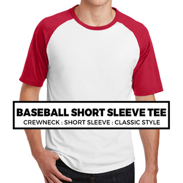 (D2) Baseball Tee : Short Sleeve