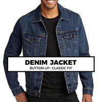 (J4) DENIM JACKET