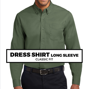 (C8) DRESS SHIRT LONG SLEEVE