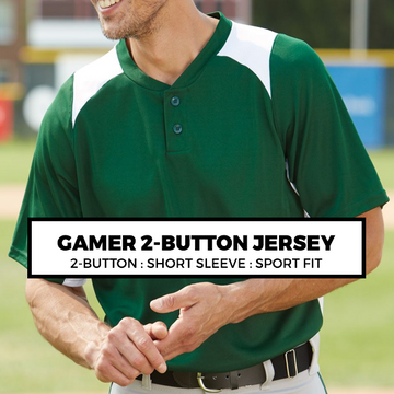 (E9) GAMER 2-BUTTON JERSEY