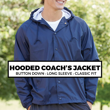 (I2) HOODED COACH'S JACKET