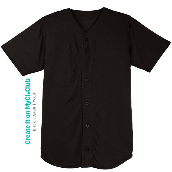 Baseball Button-Down Jersey