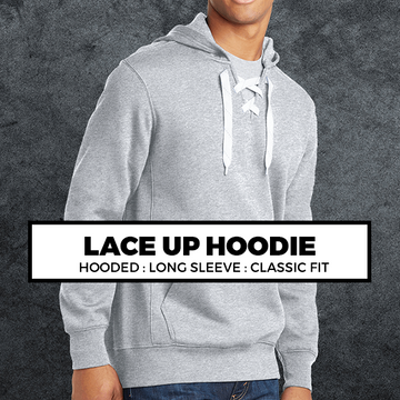 (P5) LACE UP HOODIE