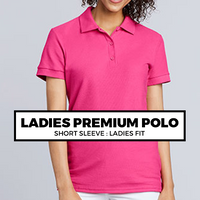 (C6) LADIES PREMIUM POLO