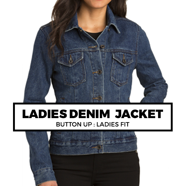 (J5) LADIES DENIM JACKET
