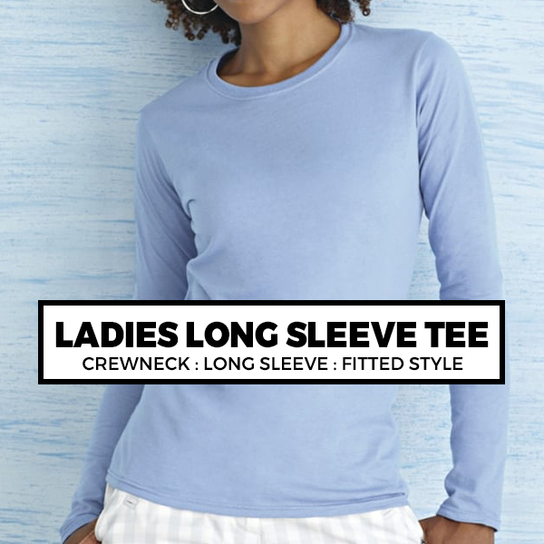 (A7) LADIES LONG SLEEVE TEE