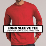 (A9) Long Sleeve Crewneck Tee*