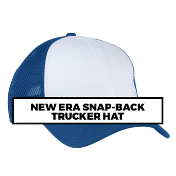 (Q6) NEW ERA SNAP-BACK TRUCKER HAT