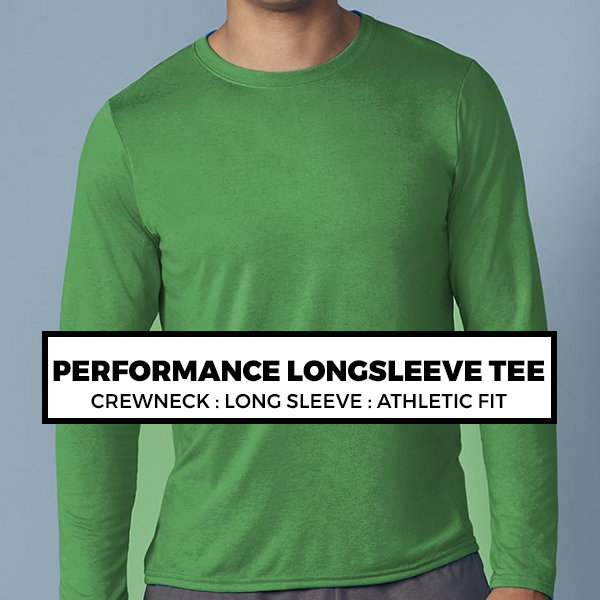 (H4) PERFORMANCE LONG SLEEVE TEE*
