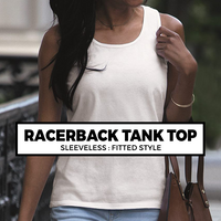 (B9) LADIES RACERBACK TANK TOP