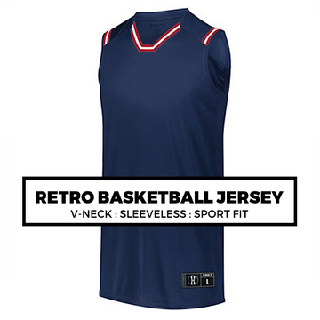 (F7) RETRO BASKETBALL JERSEY