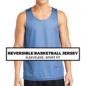 (F8) REVERSIBLE BASKETBALL JERSEY