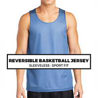 (F8) Reversible Basketball Jersey*