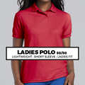 (C4) LADIES POLO 50/50