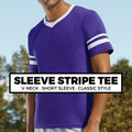 (D7) Sleeve Stripe Tee