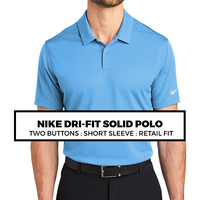 (Q4) NIKE DRI-FIT POLO
