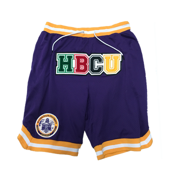 H.B.C.U. Alcorn Basketball Shorts 1.0
