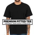 (B4) PREMIUM FITTED TEE