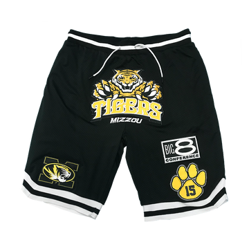 Mizzou Basketball Shorts 5.0