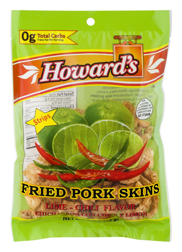 Howard's Pork Skins Lime & Chili