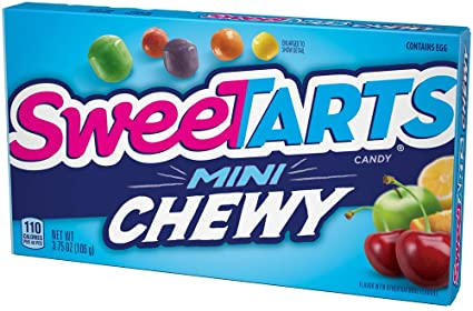 Sweetarts Mini Chewy Theater Box