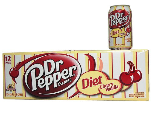 Dr. Pepper Diet Cherry Vanilla