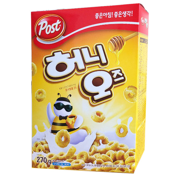 Honey O's Korean Cereal
