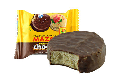 De La Rosa Mazapan Peanut With Chocolate