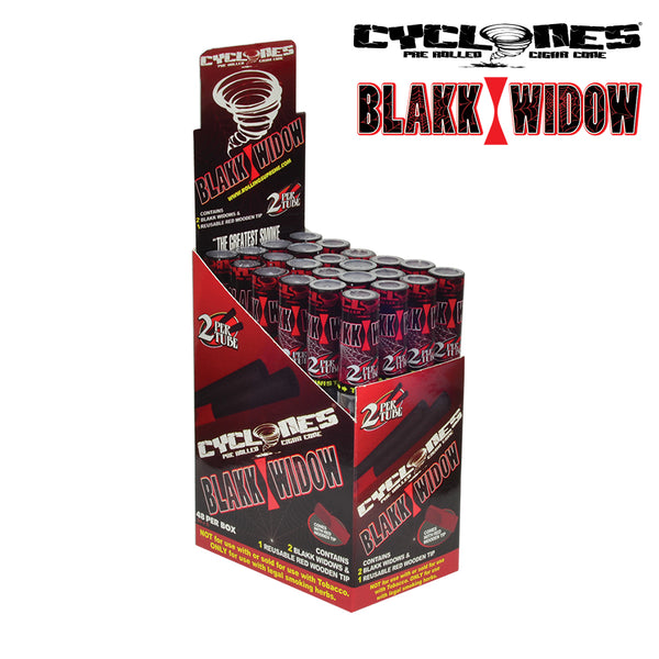 Cyclones Pre Rolled Cigar Cone Blakk Widow