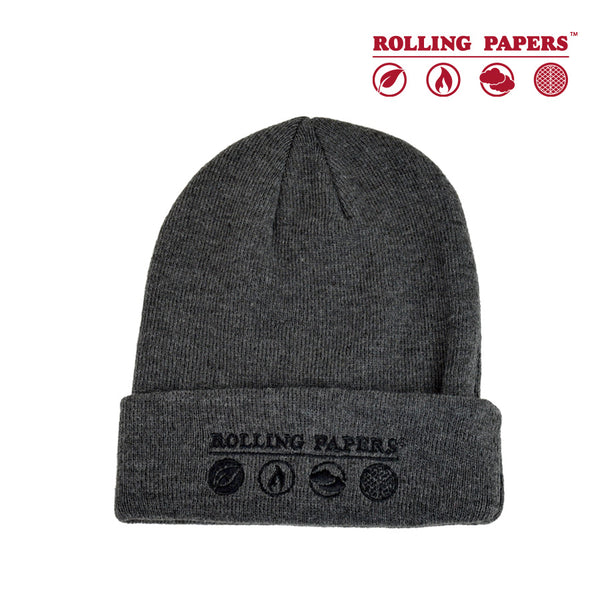 Rolling Papers Grey Beanie/Toque