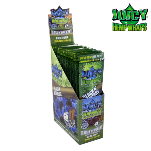 Juicy Hemp Wraps Multiple Flavours