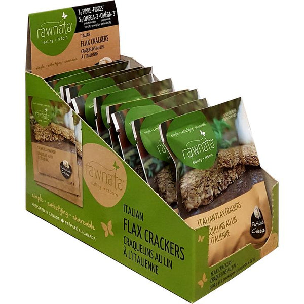 Rawnata Flax Crackers