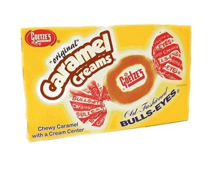 Goetze's Theater Box Caramel Creams